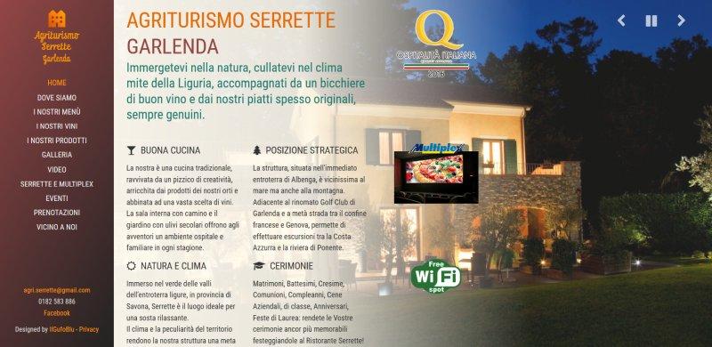 Agriturismo Ristorante Serrette - Garlenda - Savona