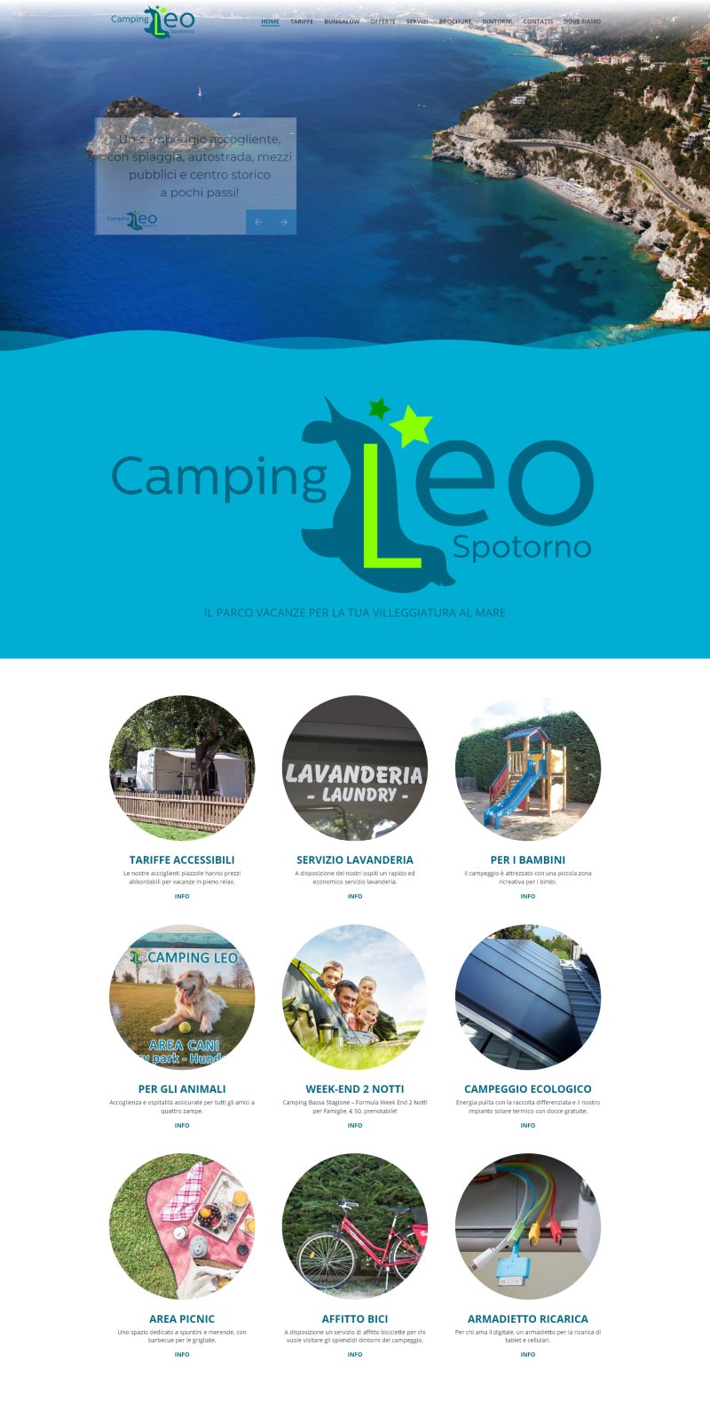 Camping Leo - Parco Vacanze a Spotorno