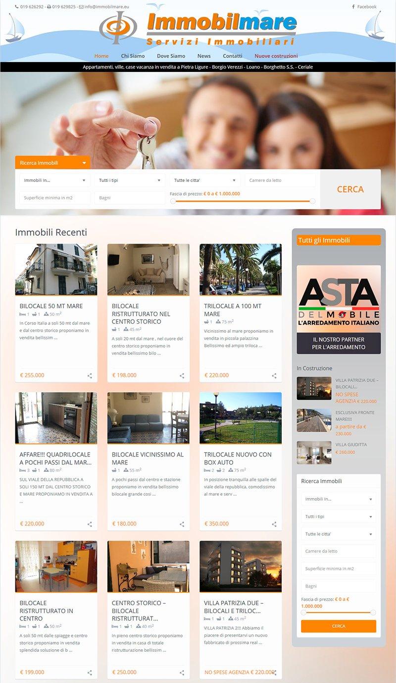 Immobilmare – Agenzia Immobiliare – Pietra Ligure La tua casa… al mare