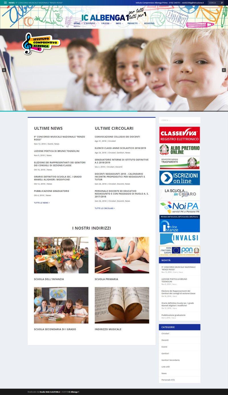 Istituto Comprensivo Albenga Primo Scuole primarie e scuole medie - Albenga