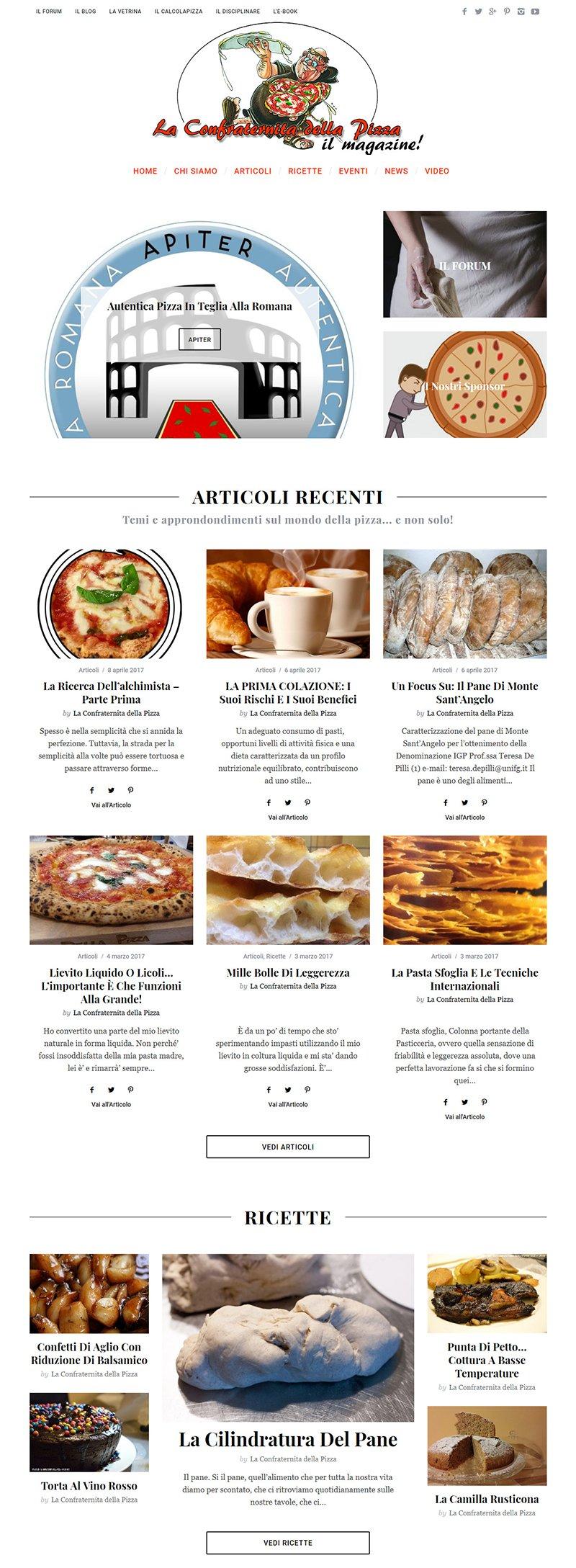 La Confraternita della Pizza – Il Magazine sulla pizza