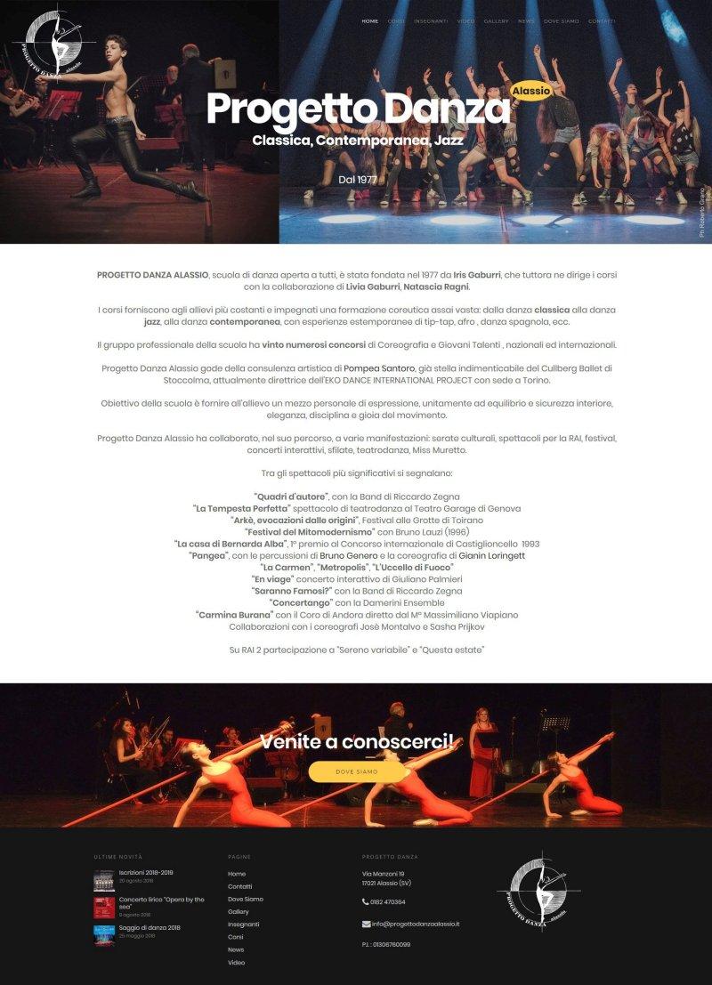 Progetto Danza Alassio - Scuola di danza