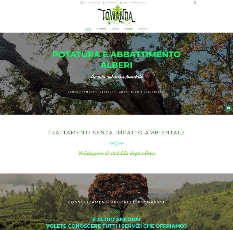 Towanda - Potatura e abbattimento alberi in ambito urbano e forestale