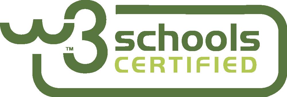 Certificazione W3 Schools Certified